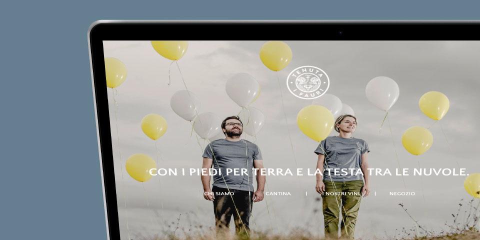 Tenuta i Fauri •website